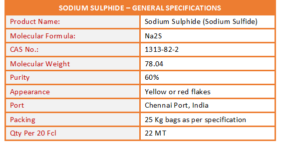 Sodium Sulphide Specification